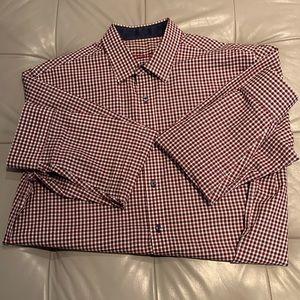 Tasso Elba Men's Dress Shirt Size Large